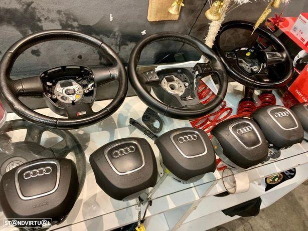 Conjunto volantes c/airbag - AUDI