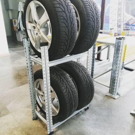 Стеллажи для ханения колес шин и дисков