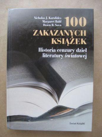 """""""100 zakazanych książek"""" Nicholas J. Karolides, Margaret Bald"""