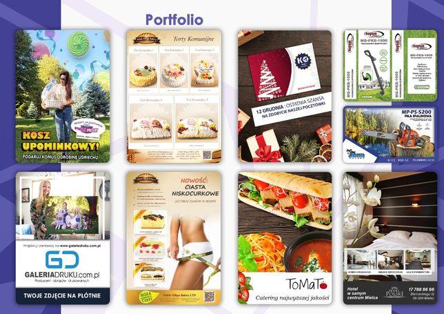 Grafika Katalogi Marketing Design - Kompleksowe usługi na poziomie