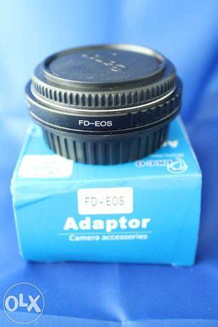 Conversor canon fd -> eos - focus inf