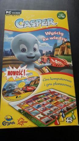 Casper wyścig ku wiedzy gra planszowa i na pc