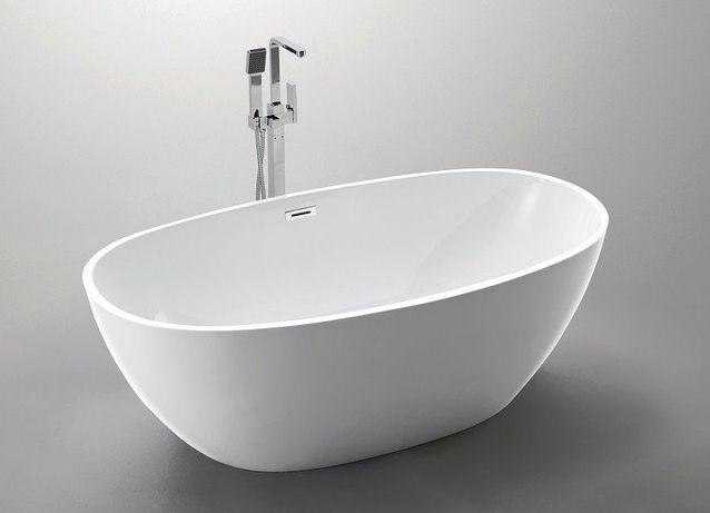 The North Bath Odin wanna wolnostojąca 170x85cm + Syfon Klik-klak