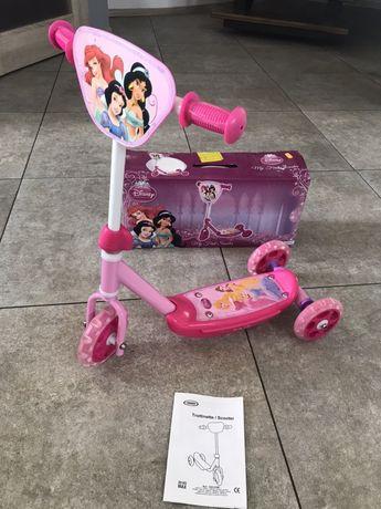 Hulajnoga trójkołowa Disney dla dziewczynki Ksieżniczki Hello Kitty