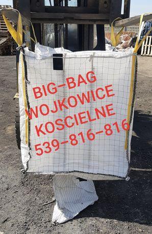 Worek bigbag big-bag big bagy worki na gruz granulat zboże odpady