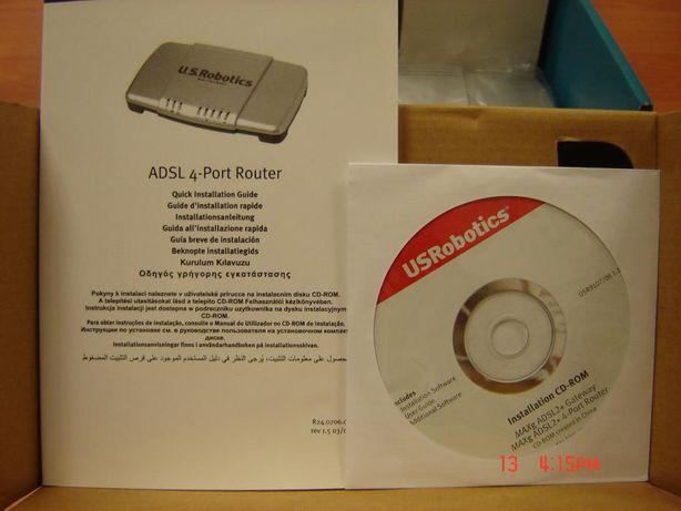 Sprzedam ADSL2+ 4-Port Router U.S.Robotics, model 9107