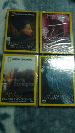 4 Dvd's National Geographic