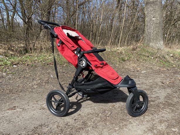 Wózek biegowy baby jogger city elite czerwony