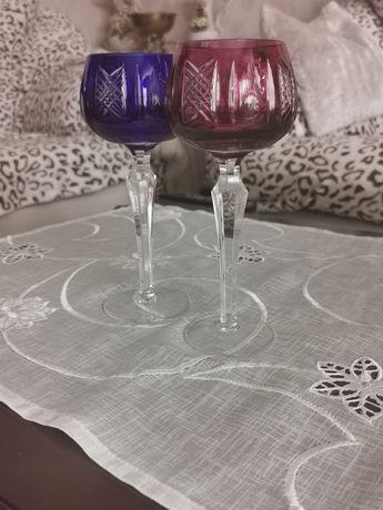 Цветной хрусталь бокалы