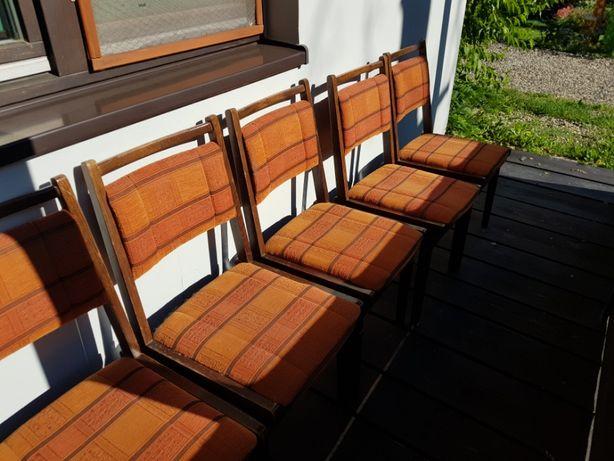 Stare Krzesło Drewniane Jar PRL Meble Mebel Prl Bielsko