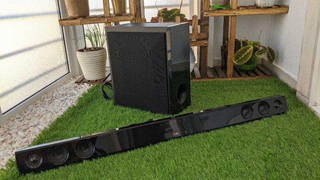 Sound bar LG 300W sem fios com subwoofer