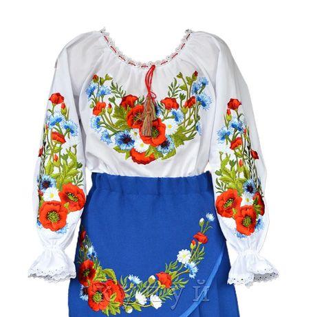 Вышиванка, костюм на девочку 7-8 лет