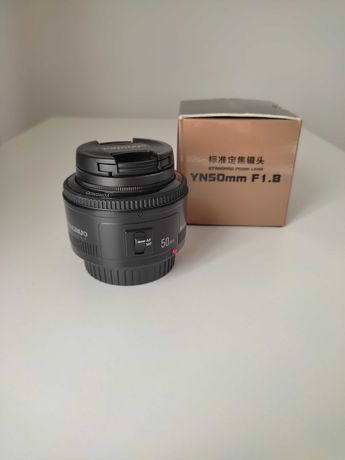 Lente 50mm f1.8 Yongnuo para Canon