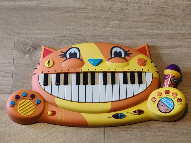 B.TOYS - Meowsic – pianinko kotek z mikrofonem