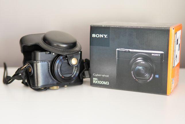 Aparat kompaktowy Sony Rx100 m3, gwarancja ponad rok, matryca 1cal