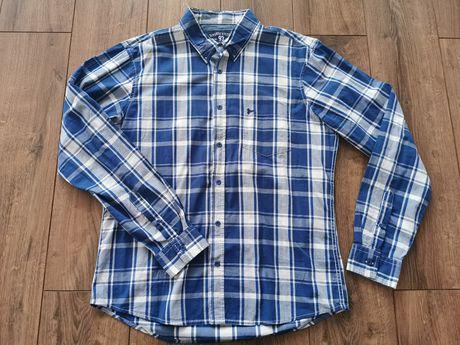 Męska koszula diverse XL krata długi rękaw