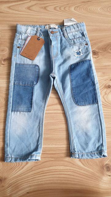 Zara spodnie r. 92