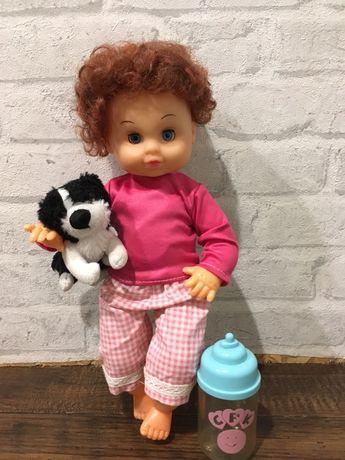 Кукла Пупс с бутылочкой игрушки девочек