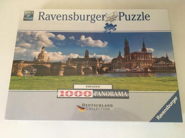 Puzzle panorâmico 1000 Peças - Cidade Alemã