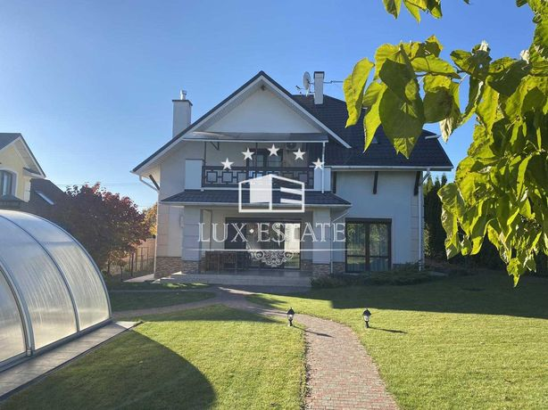 Аренда дома(240м) с бассейном,с.Иванковичи,3 спальни,15 соток