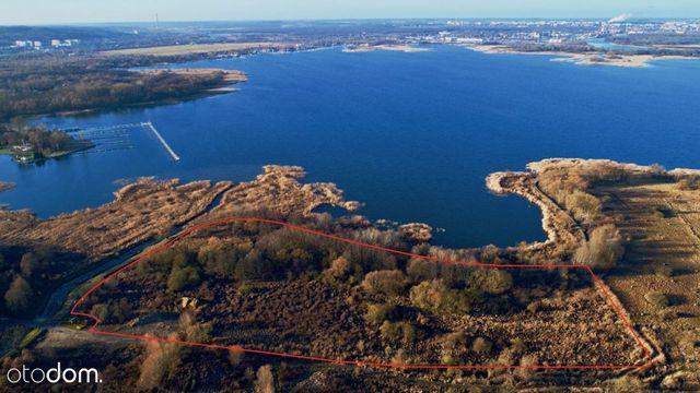 Teren inwestycyjny nad Jeziorem Dąbskim