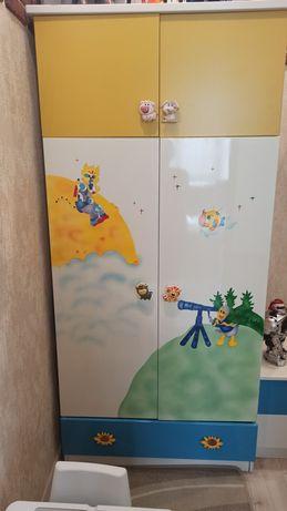 Детский Шкаф +тумба