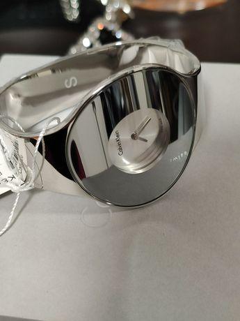 Стильные часы-браслет с зеркальным эффектом, Calvin Klein, оригинал