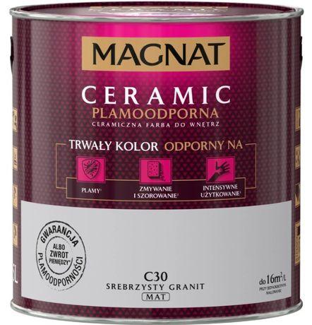 Farba MAGNAT Ceramic 5l Srebrzysty granit C30 - ostatnia 1 szt.
