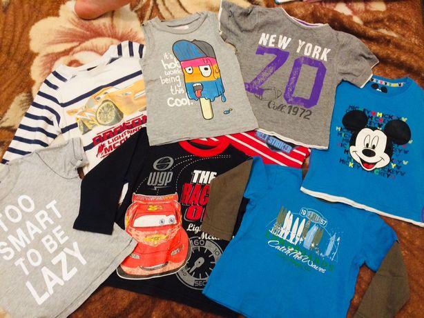 Лот пакет вещей на мальчика 90-96