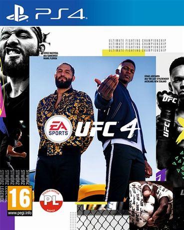 UFC 4 PS4 polska wersja Super stan Wrocław sklep tomland.eu