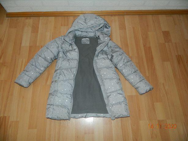 Płaszcz zimowy Mango dla dziewczynki rozm. 140