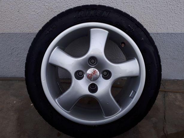 Jantes oz e pneus riken 195/50 R15 82 V furação  distância de 12.5 mm