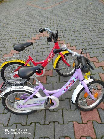 Rower 16 cali. Chłopiec i dziewczynka.