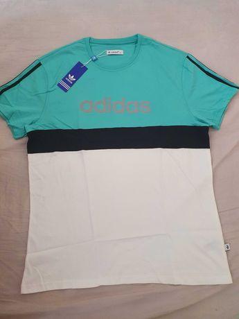 NOWA koszulka Adidas XXL t-shirt sportowy super nowość piękne kolory