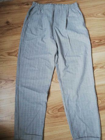 Spodnie w paski Bershka