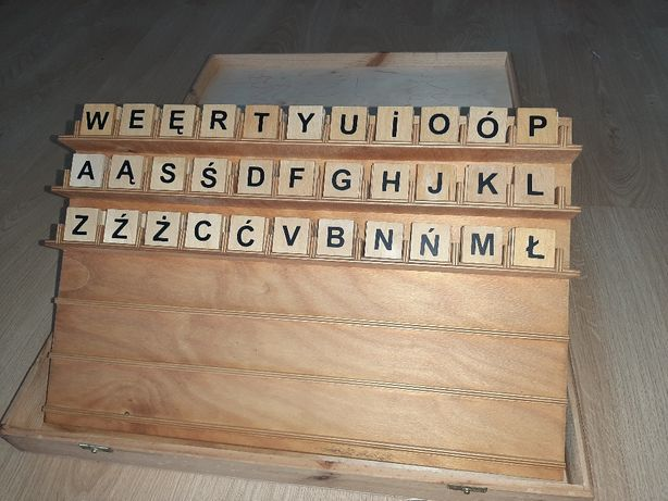 Ruchomy alfabet - E.Wianecka, Arson