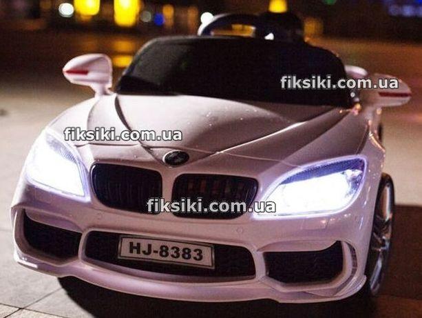 Детский электромобиль BMW T-764 EVA белый, Дитячий електромобiль