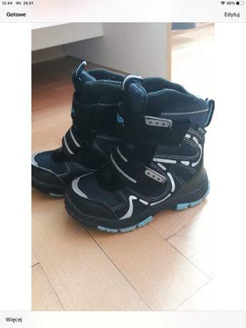 Buty zimowe dla chłopca rozmiar 25