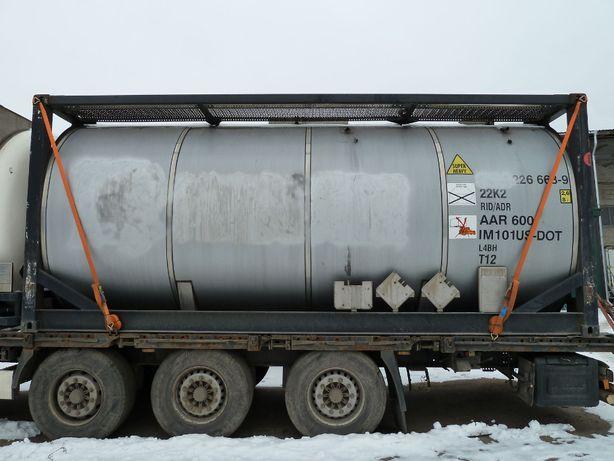 Танк-контейнер 20 футовый 26000л. с подогревом, Германия