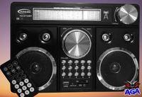 Radio FM AM SW Akumulator Latarka USB SD MP3 Pilot