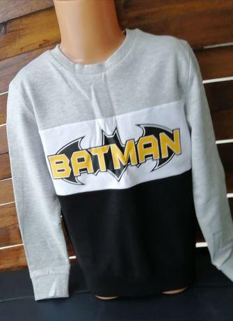 """Bluza/bluzka/bluzeczka """"Batman"""" - r. 128 (Nowa)"""