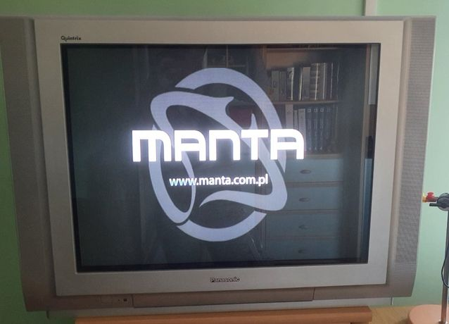 Telewizor Panasonic z dekoderem