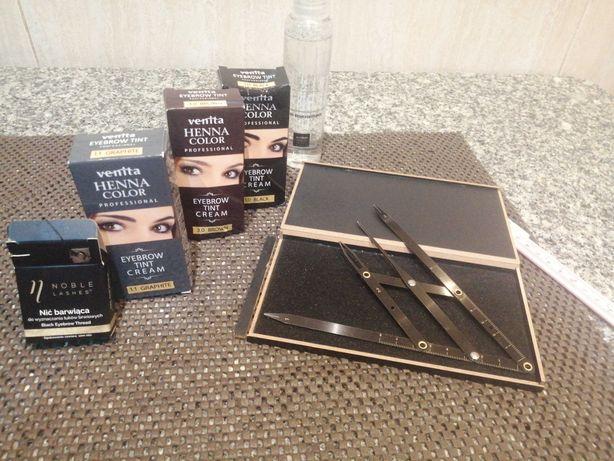 Designer de sobrancelhas e aplicação de henna