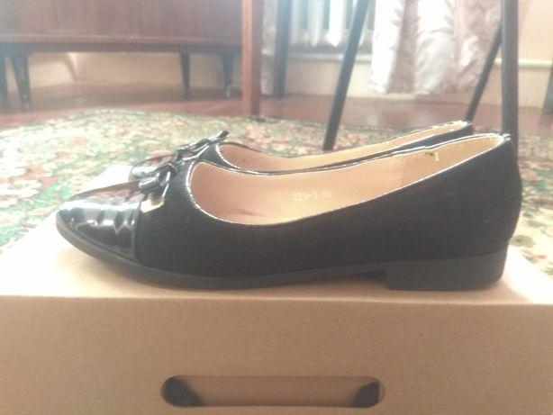 Туфли  для девочки 36 р