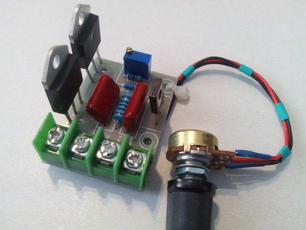 Регулятор мощности для трансформаторов,тенов,освещения.6-12квт.Диммер.