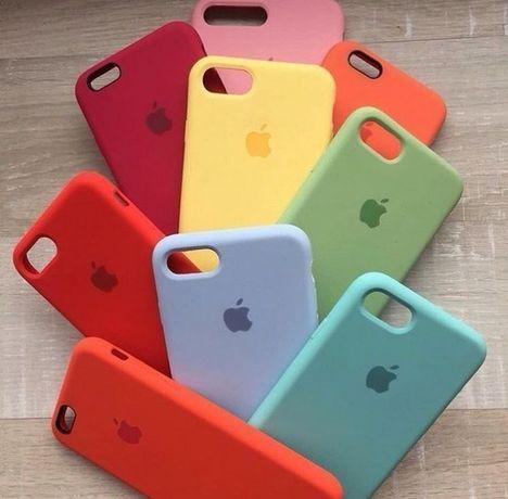 Чехол силиконовый айфон Iphone 5,6,7,8,10,11,12 xr xs pro max se 2020