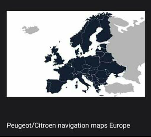 Atualização de mapas para Peugeot/Citroen