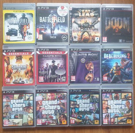 GTA 5,Dead Rising,Eat Lead,Doom 3,Battlefield,Saints Row PS3