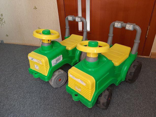 Толокар машинка трактор