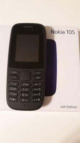 Telefon Nokia 105 DualSim Na 2 karty Sim